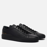 Женские кеды Common Projects Original Achilles Low Black фото- 0