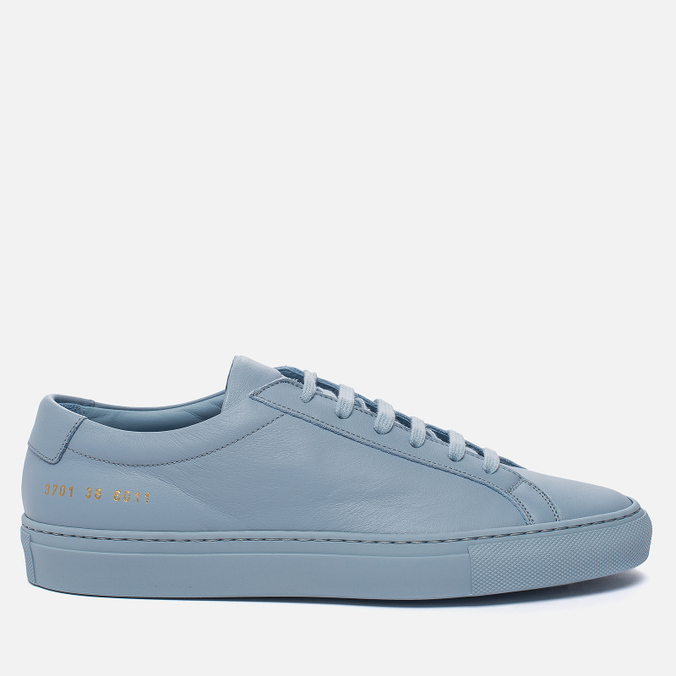 Женские кеды Common Projects Original Achilles Low Powder Blue