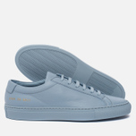 Женские кеды Common Projects Original Achilles Low Powder Blue фото- 1