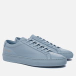 Женские кеды Common Projects Original Achilles Low Powder Blue фото- 2
