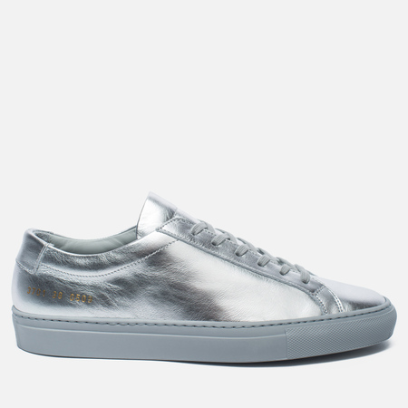 Женские кеды Common Projects Original Achilles Low Silver