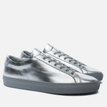 Женские кеды Common Projects Original Achilles Low Silver фото- 1