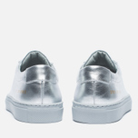 Женские кеды Common Projects Original Achilles Low Silver фото- 4