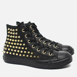 Женские кеды Converse Chuck Taylor All Star Classic Studded High Top Black фото- 1