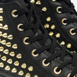 Женские кеды Converse Chuck Taylor All Star Classic Studded High Top Black фото- 3