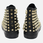 Женские кеды Converse Chuck Taylor All Star Classic Studded High Top Black фото- 5