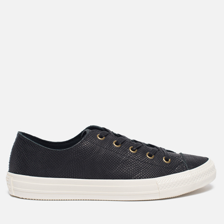 Женские кеды Converse Chuck Taylor All Star Gemma Exotics Low Black/Egret/Mouse