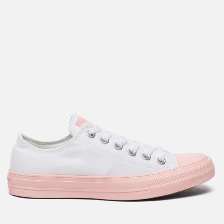 Женские кеды Converse Chuck Taylor All Star II White/Vapor Pink/Vapor Pink
