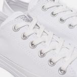 Женские кеды Converse Chuck Taylor All Star Metallic Toecap White/Silver/White фото- 5