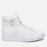 Женские кеды Converse Chuck Taylor All Star Selene Monochrome Leather White фото- 0
