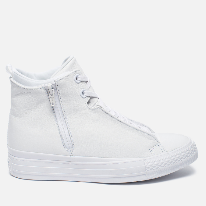 Женские кеды Converse Chuck Taylor All Star Selene Monochrome Leather White