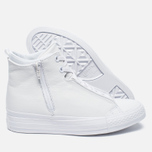 Женские кеды Converse Chuck Taylor All Star Selene Monochrome Leather White фото- 1