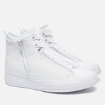 Converse Chuck Taylor All Star Selene Monochrome Leather Women's Plimsoles White photo- 2