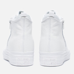 Женские кеды Converse Chuck Taylor All Star Selene Monochrome Leather White фото- 5