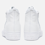 Converse Chuck Taylor All Star Selene Monochrome Leather Women's Plimsoles White photo- 5