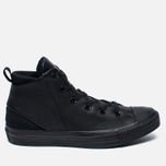 Женские кеды Converse Chuck Taylor All Star Sloane Monochrome Leather Black фото- 0