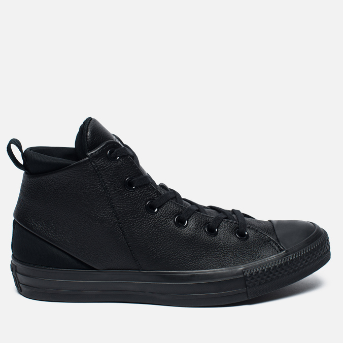 Женские кеды Converse Chuck Taylor All Star Sloane Monochrome Leather Black