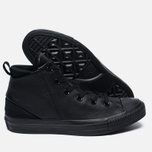 Женские кеды Converse Chuck Taylor All Star Sloane Monochrome Leather Black фото- 1