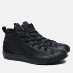 Женские кеды Converse Chuck Taylor All Star Sloane Monochrome Leather Black фото- 2