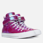 Converse CTAS Brea Iridescent Shieldtail Women's Plimsoles Cyan Space photo- 1