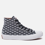 Женские кеды Converse x Missoni Chuck Taylor All Star II Black/White/Auburn фото- 0