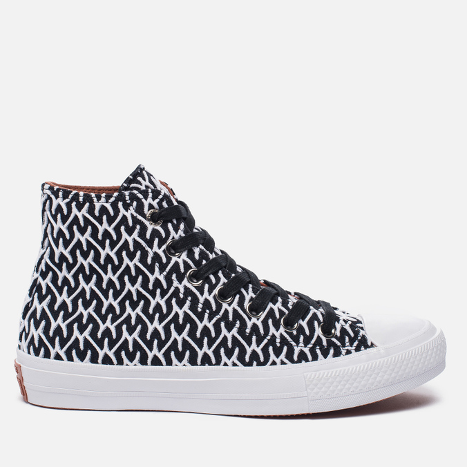 Женские кеды Converse x Missoni Chuck Taylor All Star II Black/White/Auburn