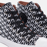 Женские кеды Converse x Missoni Chuck Taylor All Star II Black/White/Auburn фото- 6