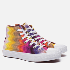Женские кеды Converse x Missoni Chuck Taylor All Star II White/Multi/White