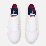 Женские кеды Fred Perry Phoenix Flatform Heavy Canvas White фото- 4
