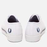 Женские кеды Fred Perry Phoenix Flatform Heavy Canvas White фото- 3