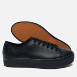 Женские кеды Fred Perry Phoenix Flatform Leather Black фото- 2