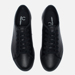 Женские кеды Fred Perry Phoenix Flatform Leather Black фото- 4