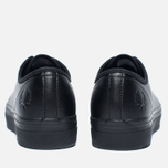 Женские кеды Fred Perry Phoenix Flatform Leather Black фото- 3