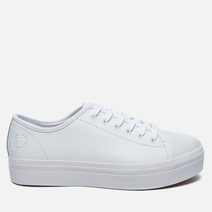 Fred Perry Phoenix Flatform Women's Plimsoles Leather White