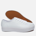 Женские кеды Fred Perry Phoenix Flatform Leather White фото- 2