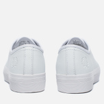 Fred Perry Phoenix Flatform Women's Plimsoles Leather White photo- 3