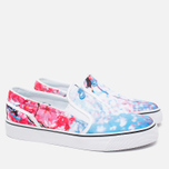 Женские кеды Nike Toki Slip Cherry Blossom Pack White/University Blue фото- 1