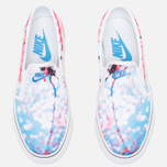 Женские кеды Nike Toki Slip Cherry Blossom Pack White/University Blue фото- 4