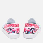 Женские кеды Nike Toki Slip Cherry Blossom Pack White/University Blue фото- 3
