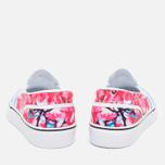 Nike Toki Slip Cherry Blossom Pack Women's Plimsoles White/University Blue photo- 3