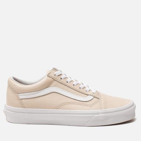 Женские кеды Vans Old Skool Leather Sand Dollar