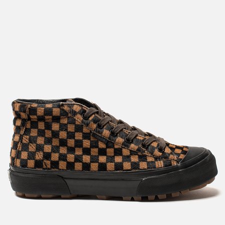 Женские кеды Vans Vault OG G.I Lux Pony Hair Pack Checkerboard