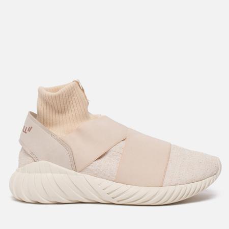 Женские кроссовки adidas Consortium x Overkill x Fruition Tubular Elastic Rich White/Beige