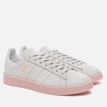 Женские кроссовки adidas Originals Campus Crystal White/Crystal White/Ice Pink фото- 2