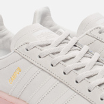 Женские кроссовки adidas Originals Campus Crystal White/Crystal White/Ice Pink фото- 3