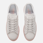 Женские кроссовки adidas Originals Campus Crystal White/Crystal White/Ice Pink фото- 4