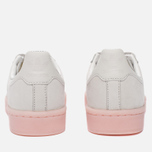 Женские кроссовки adidas Originals Campus Crystal White/Crystal White/Ice Pink фото- 5