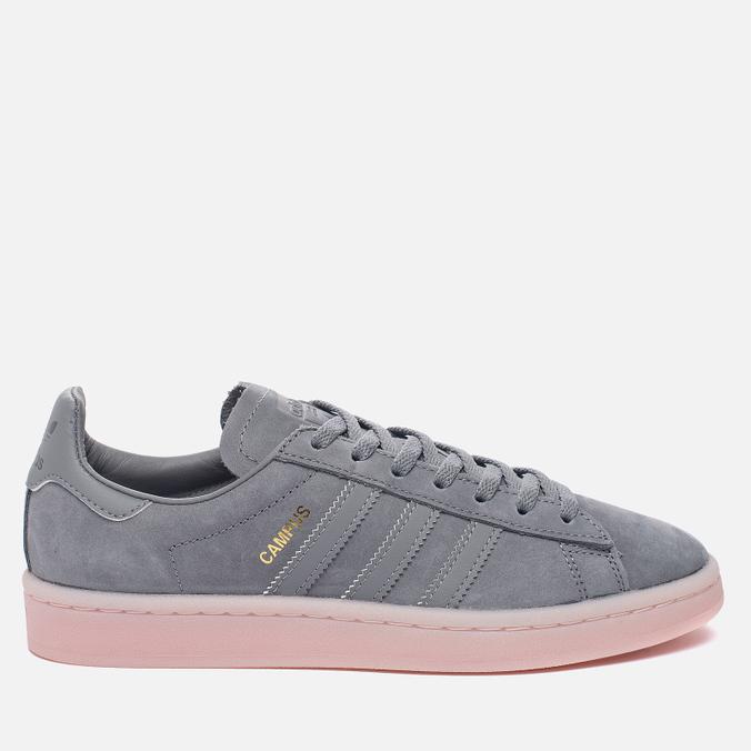 Женские кроссовки adidas Originals Campus Grey Three/Grey Three/Ice Pink