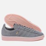 Женские кроссовки adidas Originals Campus Grey Three/Grey Three/Ice Pink фото- 1