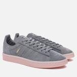Женские кроссовки adidas Originals Campus Grey Three/Grey Three/Ice Pink фото- 2